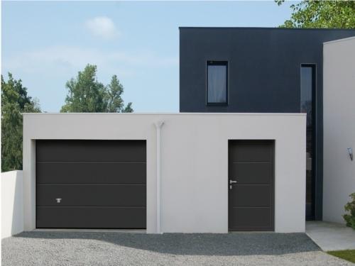 Porte De Garage Aluminium M Conserpag